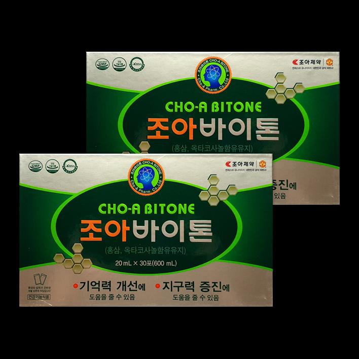 조아제약 조아바이톤 포, 60포