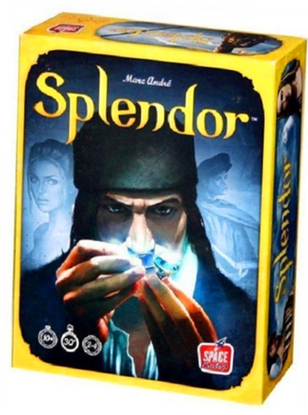 스플렌더 Splender 확장판 기본판 영문판 보석패드 풀세트 스플랜더 보드게임 경영게임, 1.스플렌더 남 기본판