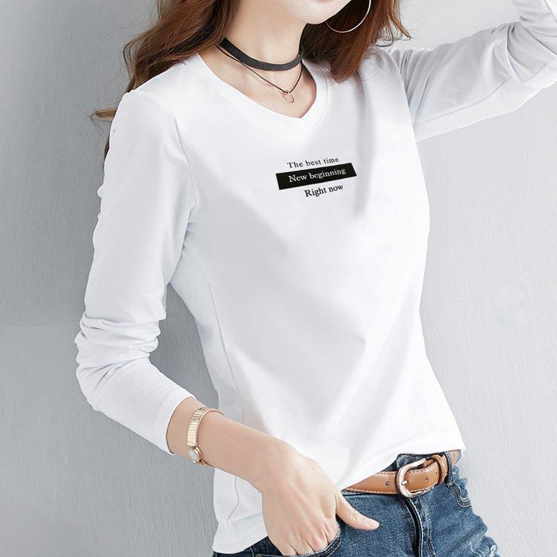 오즈세컨 가을 여성 레터링 면 티셔츠 후드 반팔티