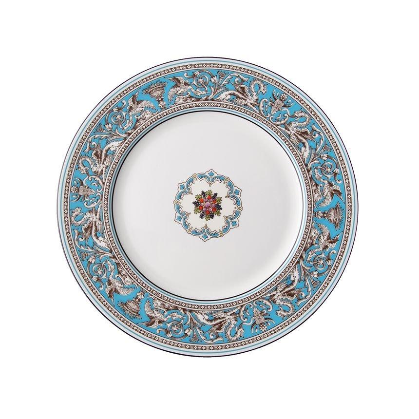 [갤러리아] 웨지우드[웨지우드] 플로렌틴터콰즈 20cm 접시 1p, 상세설명참조