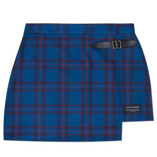 MARYJAMES (W) Plum Tree Skirt - Blue