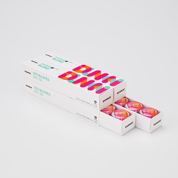 던킨도너츠 던킨 에스프레소 블렌드 캡슐커피(5gx6개)x4세트, 4팩