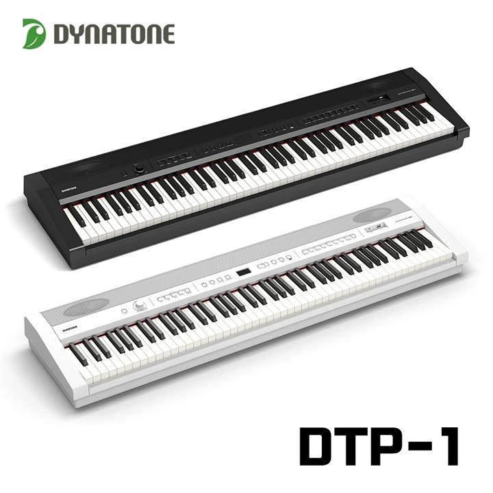 다이나톤 2020신제품 포터블 전자 디지털피아노 DTP-1, 블랙