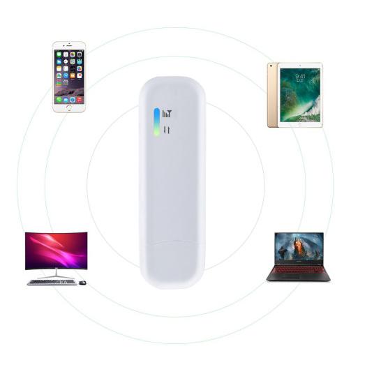 SKT KT LGT 호환 USB 라우터 4G Wif LTE 동글모뎀 SimCard 슬롯, 단품, 상세페이지 참조