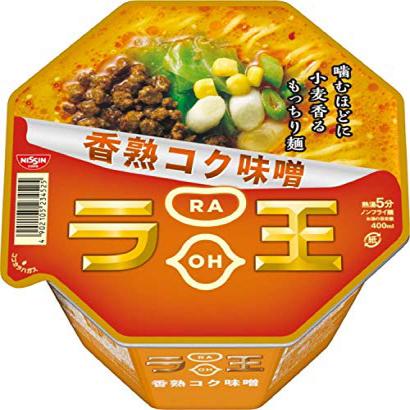 Nissin - Raoh Japanese Instant Ramen Noodles Miso Soup 4.3oz X 6 Bowls (for 6 Servings)[Japan Imp, 1