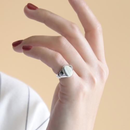 딩동샵 볼드한 민자 애끼 링 새끼손가락 반지