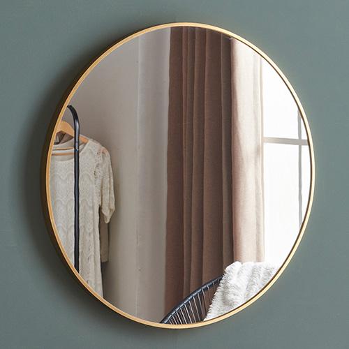 주빌리 골드써클 원형거울 왜곡 없는 현관거울 650mm 750mm 2종