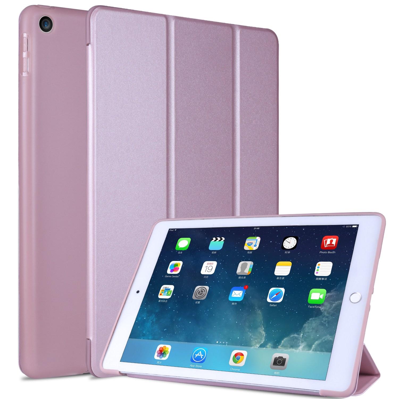 아이패드미니 4 실리콘 플립 스마트 커버 케이스, 핑크