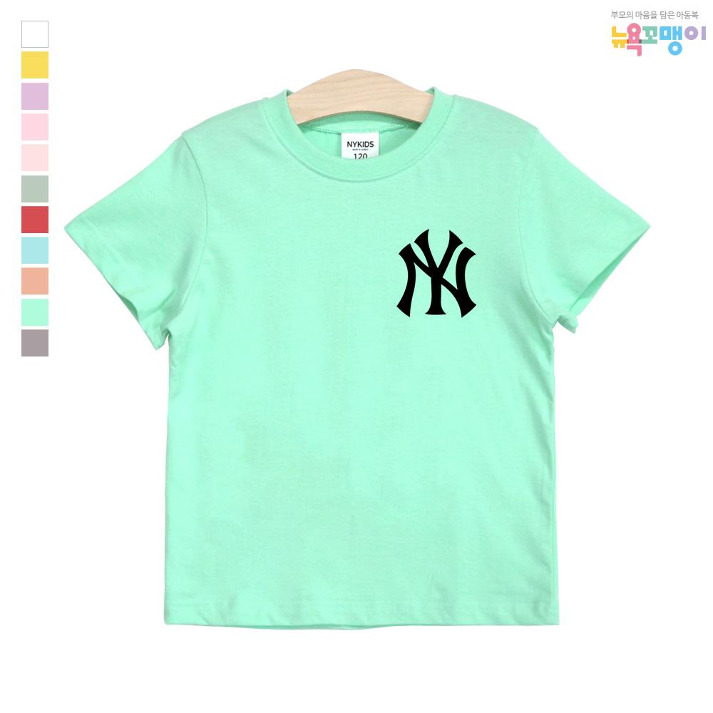 뉴욕꼬맹이 아동용 A149 NY 반팔 티셔츠