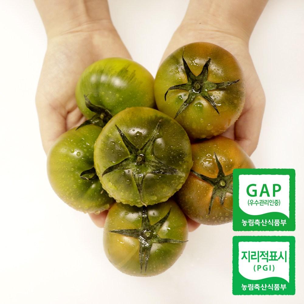 산지직송 부산 대저 짭짤이 토마토 2.5kg 로얄과 중대과, L(대과)2.5kg 일반
