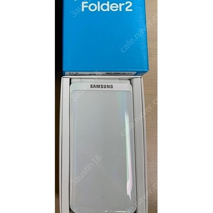 삼성 갤럭시폴더2 G160 화이트 코랄 핑크 가개통폰 새제품 새폰 폴더폰 효도폰