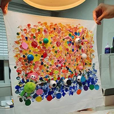 엄마표 놀이 미술 키트 -Color Dot-색깔 점으로 표현한 세상