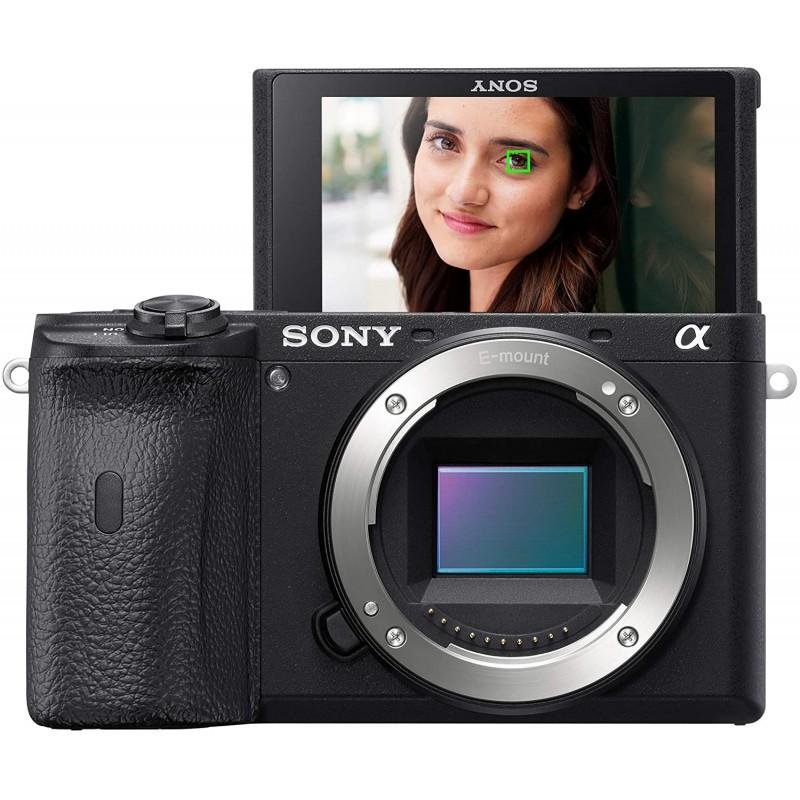 Sony Alpha A6600 미러리스 카메라 : 카메라 및 사진, 단일옵션