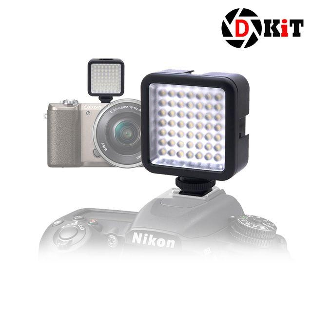 디키트 유튜브 LED 라이트 49구 조명 조립형 XH49s 플래시 1개 상세페이지참조