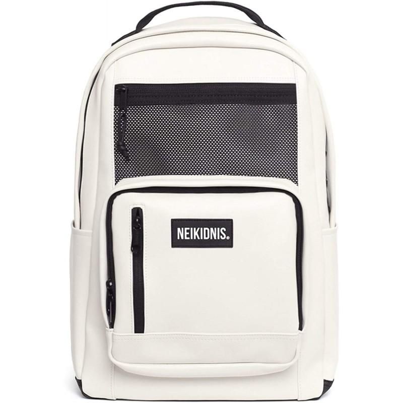 [네이키도니스] NEIKIDNIS Prime Backpack Leather 메쉬 가방 남녀 겸용 [병행 수입품] (아이보리)