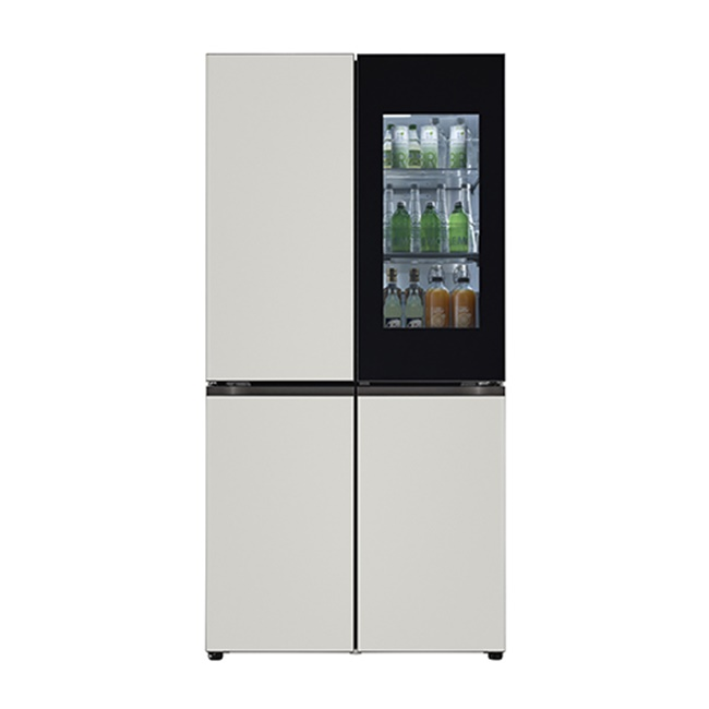LG전자 M870MGG451S 오브제컬렉션 냉장고 1등급 메탈 그레이 그레이 (POP 4925829035)