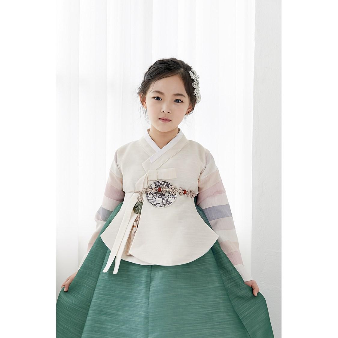 르루한복 연아 초록 주니어한복-27-2029293653
