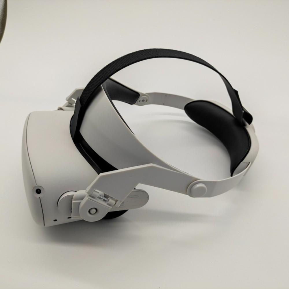오큘러스퀘스트 퀘스트2 조절 가능한 헤일로 스트랩 컬러선택, 흰색 개, 1