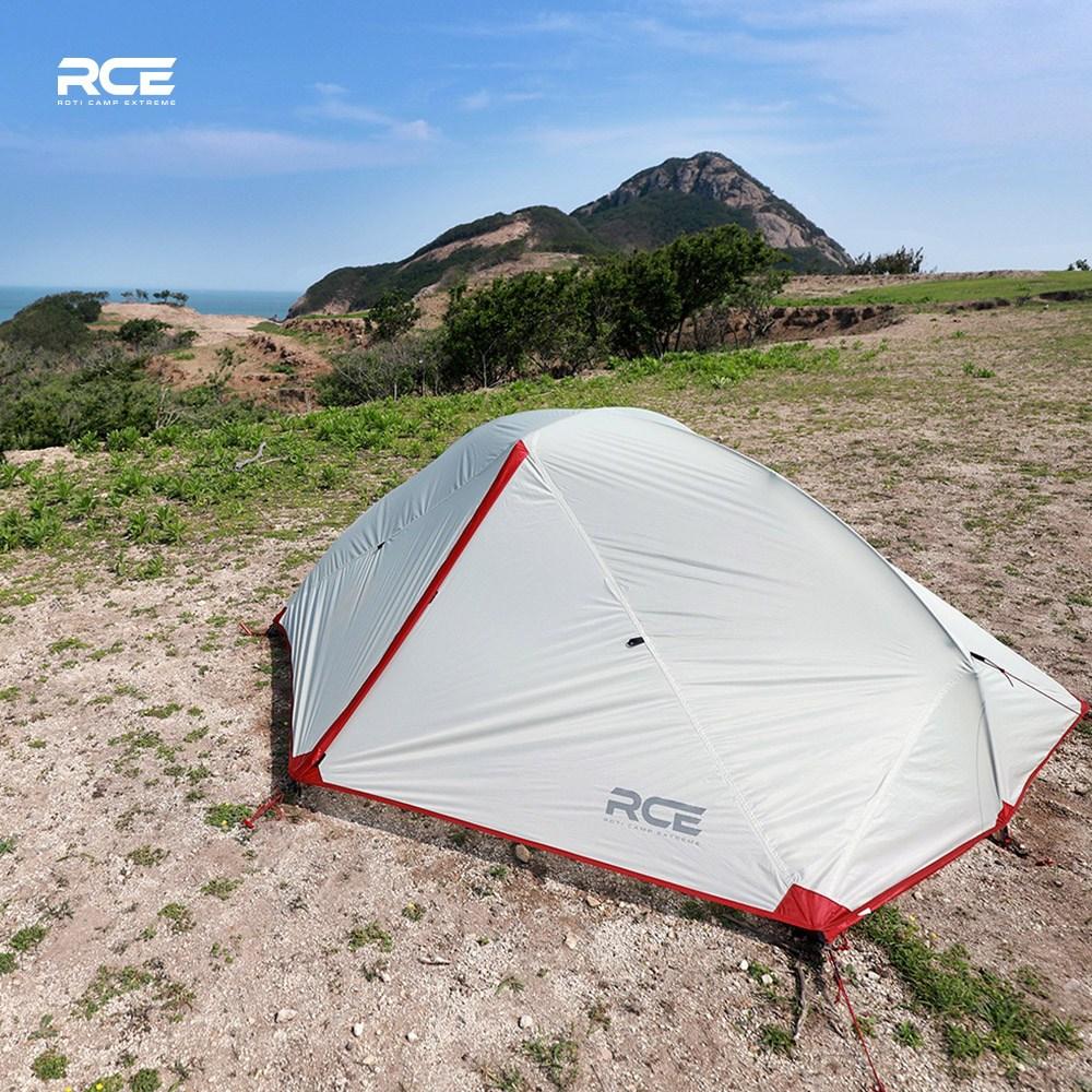 로티캠프 RCE 시니어2 백패킹 텐트 2인용