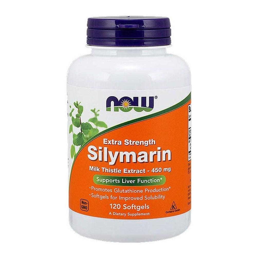Now Foods NOW Silymarin Milk Thistle Extract 나우 푸드 밀크시슬 실리마린 450mg 120소프트젤, 1box