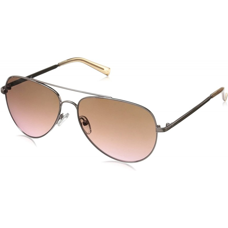 Calvin Klein R159S 에비에이터 선글라스 로즈 골드 / 핑크 60 mm