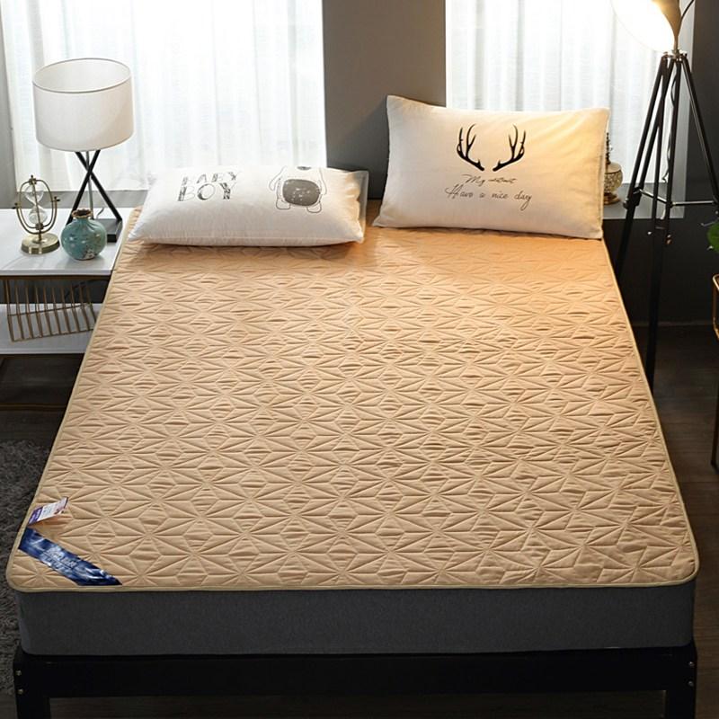 토퍼 템퍼 매트리스 침구 기타 면실 사계절 공용 침구, 낙타_1.5m (5 피트)