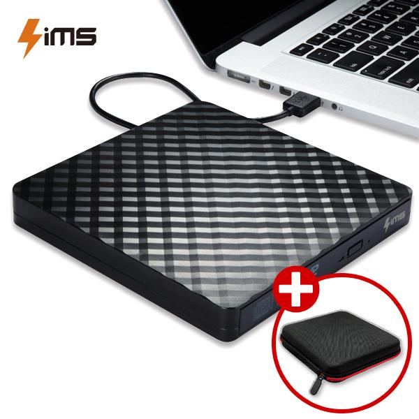 림스테일 USB 3.0 외장ODD CD롬 DVD RW, 림스 외장ODD+전용파우치증정