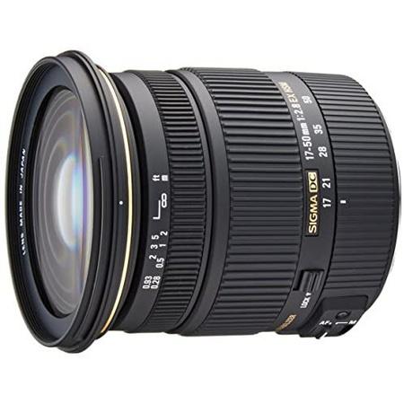 해외1465600 Sigma 17-50mm f2.8 EX DC OS HSM FLD Large Aperture Standard Zoom 줌 렌즈 for Canon 캐논, 상세 설명 참조0
