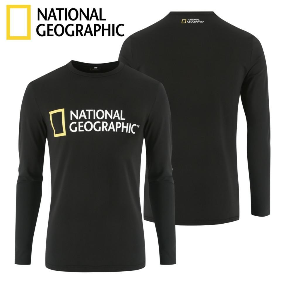 내셔널지오그래픽 기능성 긴팔 맨투맨 티셔츠