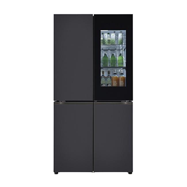 LG전자 M870MBB451S 오브제컬렉션 냉장고 1등급 메탈 블랙 블랙 (POP 5070505662)