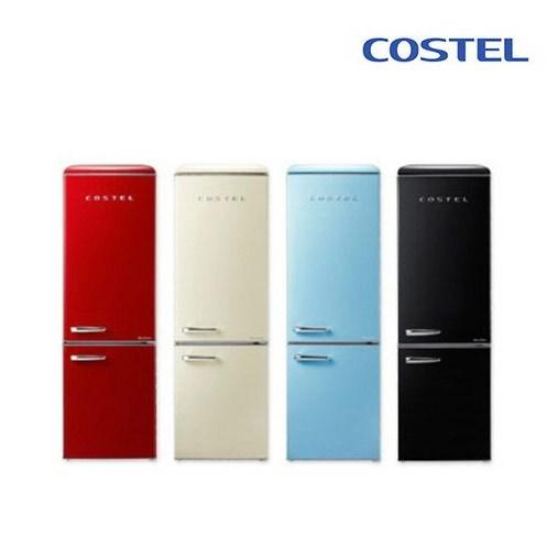 나만의 스타일링!! 세일한정특가 [코스텔] 빈티지 클래식 레트로 냉장고 300L, 아이보리