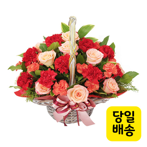 위드유플라워 전국당일배송 꽃바구니 [감사의 마음]
