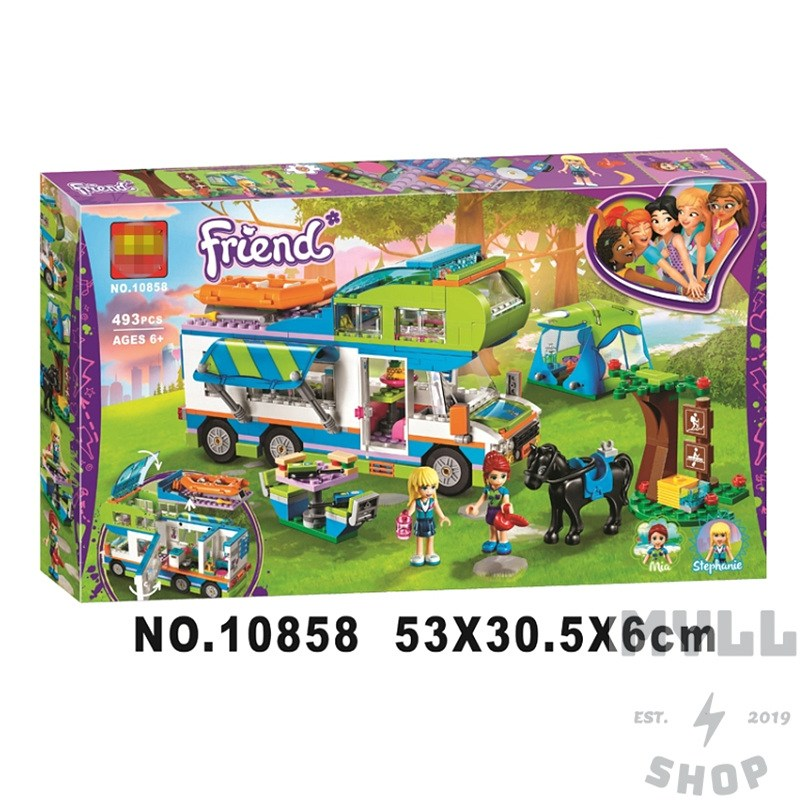 레고 프렌즈 미아의 캠핑 카 41339 중국레고 호환레고