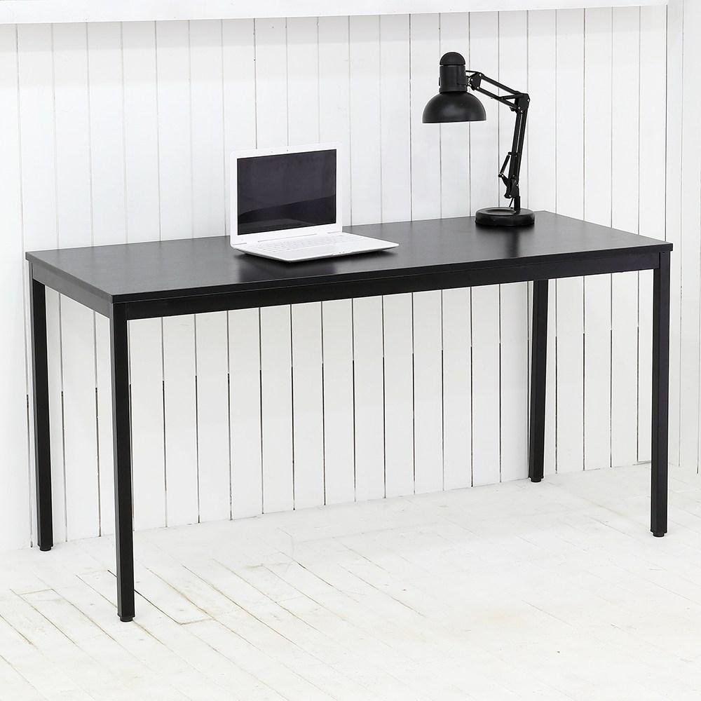 THEJOA 모던테이블 블랙 600 800 1000 1200 1400 카페/업소용/식탁/컴퓨터책상, 모던 1400 블랙