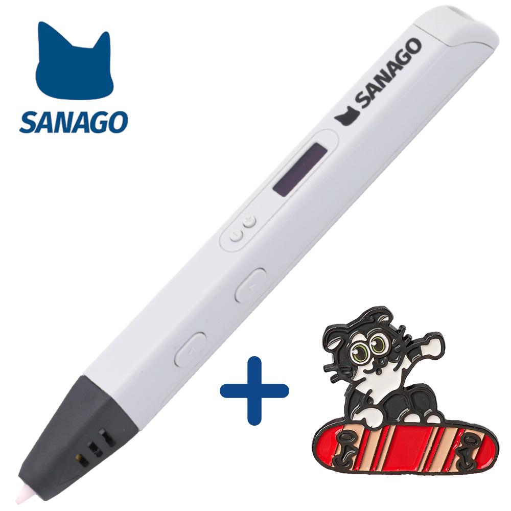 사나고 3D펜 고급형 사나고펜, 사나고3D펜 고급형(화이트)
