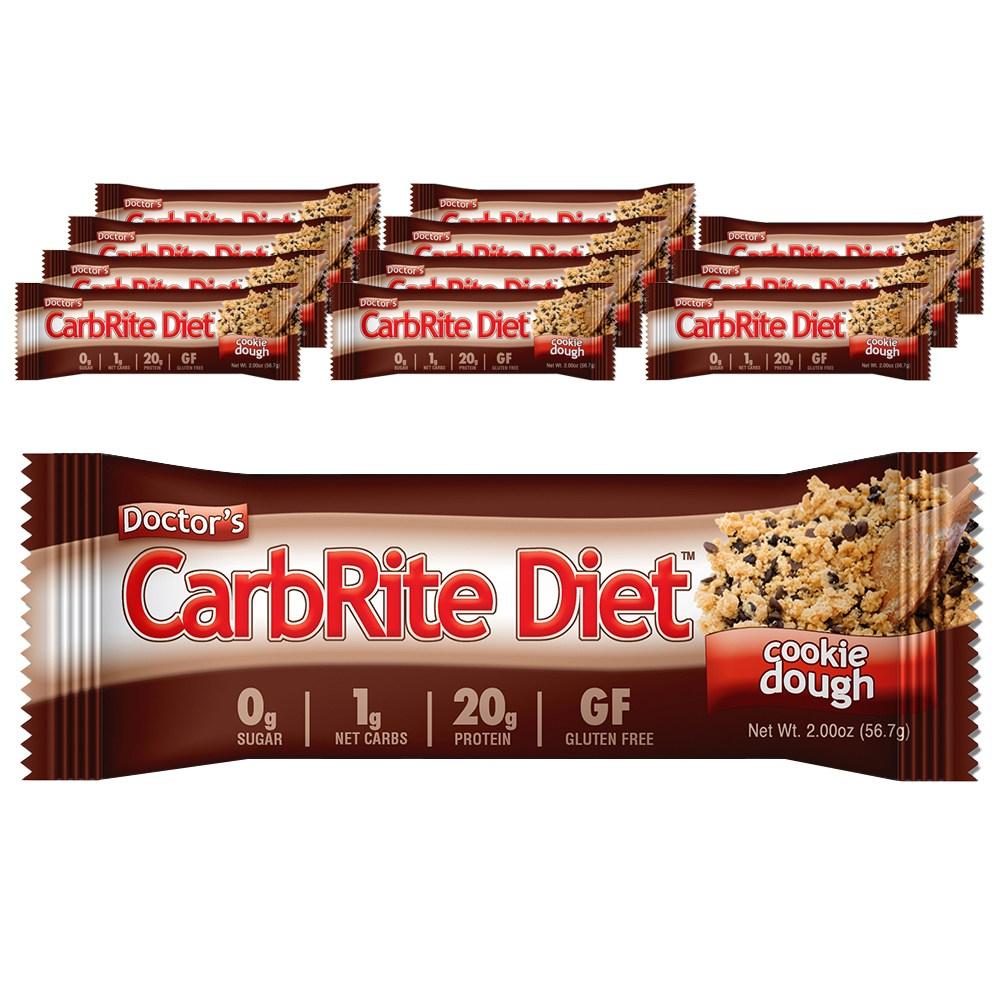 닥터스 카브라이트 다이어트 쿠키 도우, 56.7g, 12개