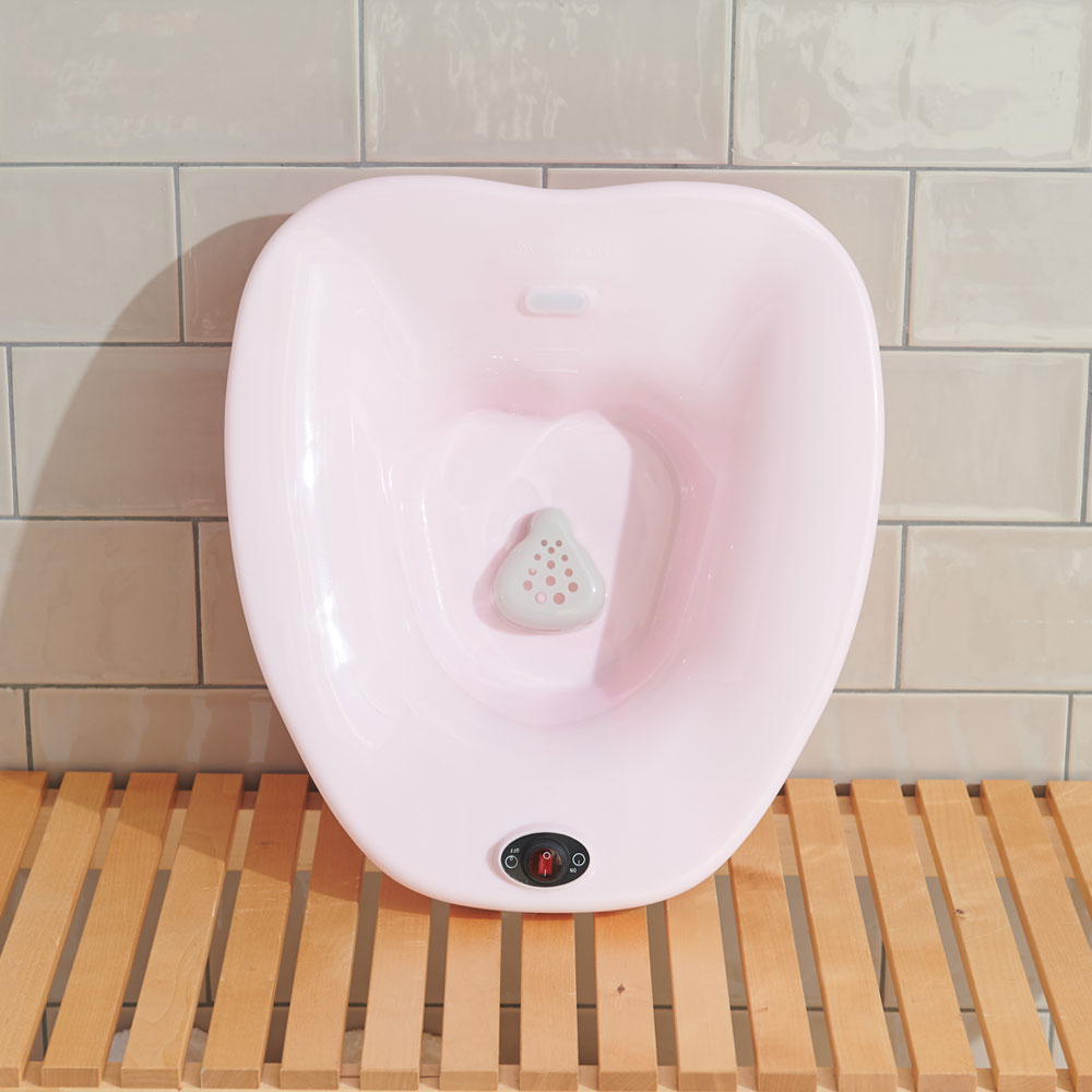 비타그램 가정용 좌욕기 무선 버블 임산부 치질, 코드제로 무선 버블좌욕기, 비타그램 무선좌욕기 핑크