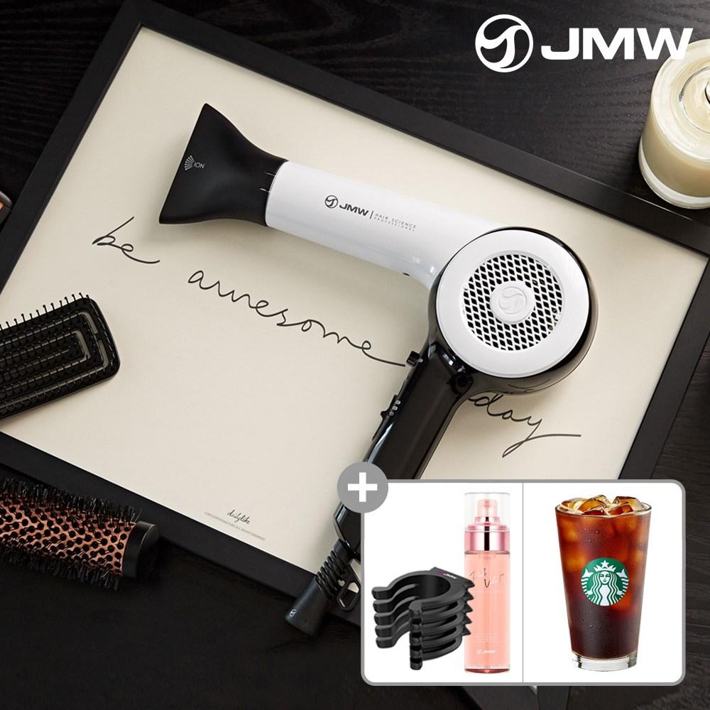 JMW MA6001A 전문가용 BLDC항공모터 헤어 드라이기 블랙 [LB125_69]