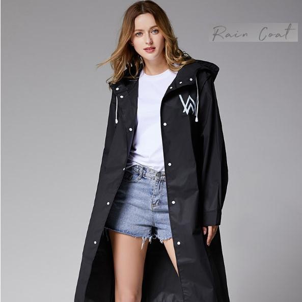 자두나무 W.A 여성레인코트 블랙 비옷 우비