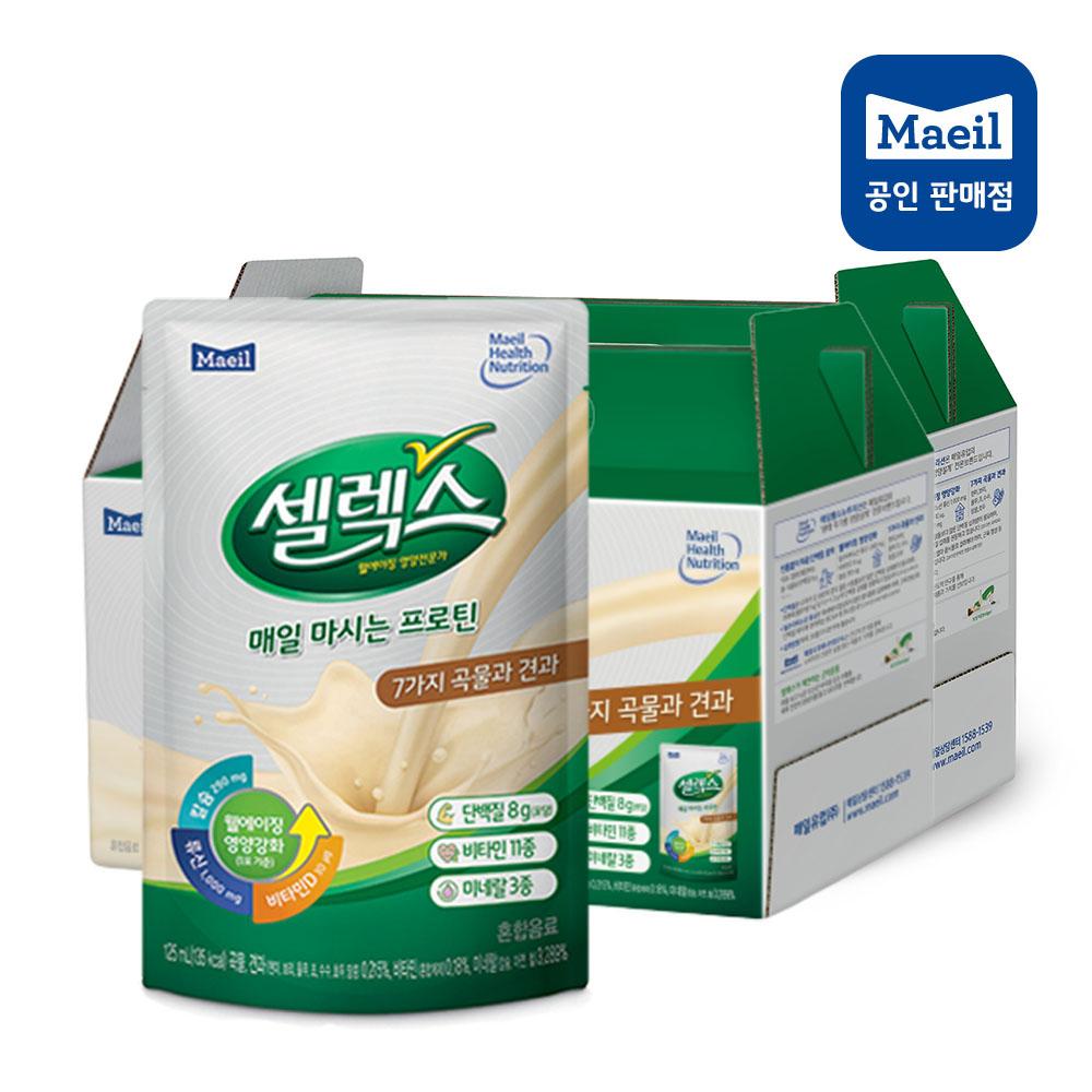매일유업 셀렉스 매일 마시는 프로틴 (125ml*14팩) x 2박스, 단일상품