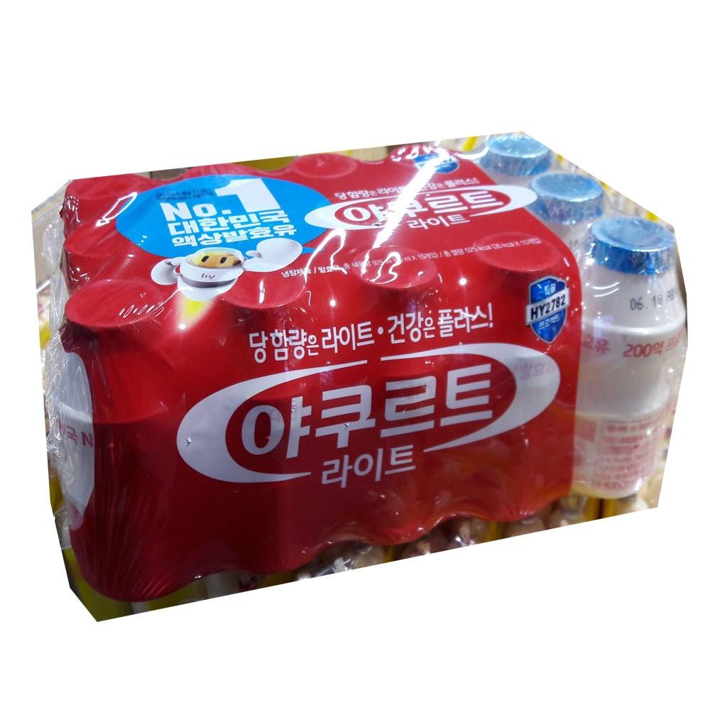 한국야쿠르트 라이트65ml X 15입 아이스무료 구매후 반품불가, 15개입, 65ml
