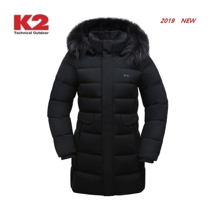K2 수지 다운 구스다운 앨리스 KWW19544 블랙 다운패딩