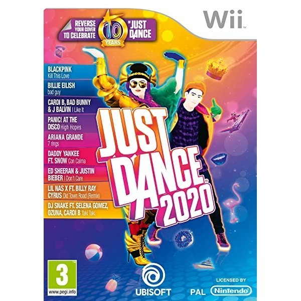 Just Dance 2020 (Nintendo Wii) (International Edition), Nintendo Wii_Standard Edition