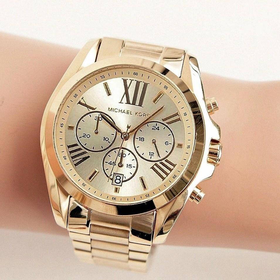 마이클코어스 미국직배송 MK5605 골드 스텐레스 메탈 여성패션 럭셔리 손목시계 여성인기시계