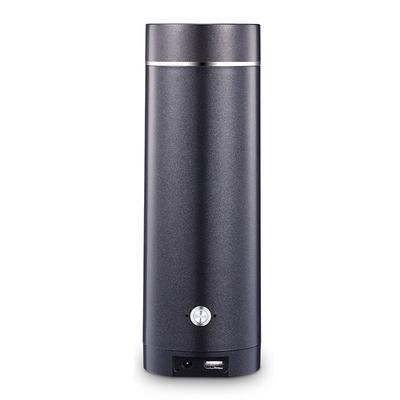 유선포트 여행 USB충전 플러그인 항온 전열 물주전자 온도조절 온도컨트롤 찻주전자 휴대용 전기가열 보온컵, T05-그레이 80W충전 25분 15000밀리암페어 축전지