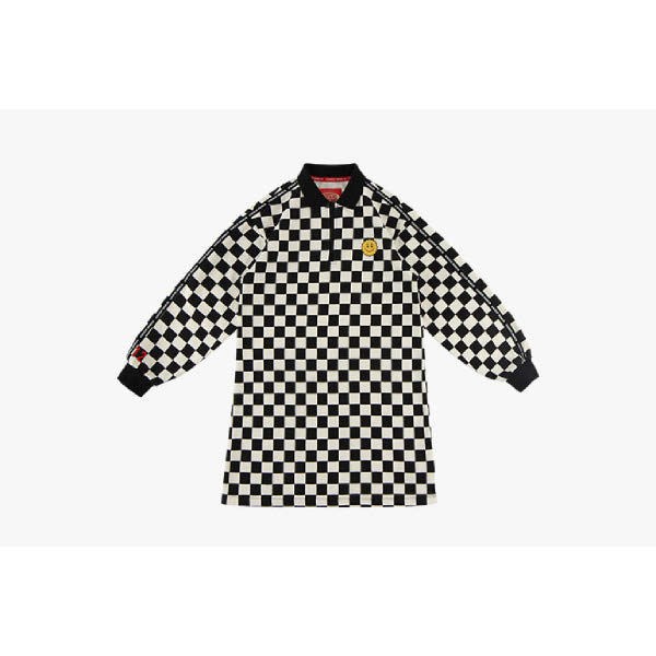 현대백화점아이스비스킷 퀴즈스마일 하프짚 드레스 IB9328637