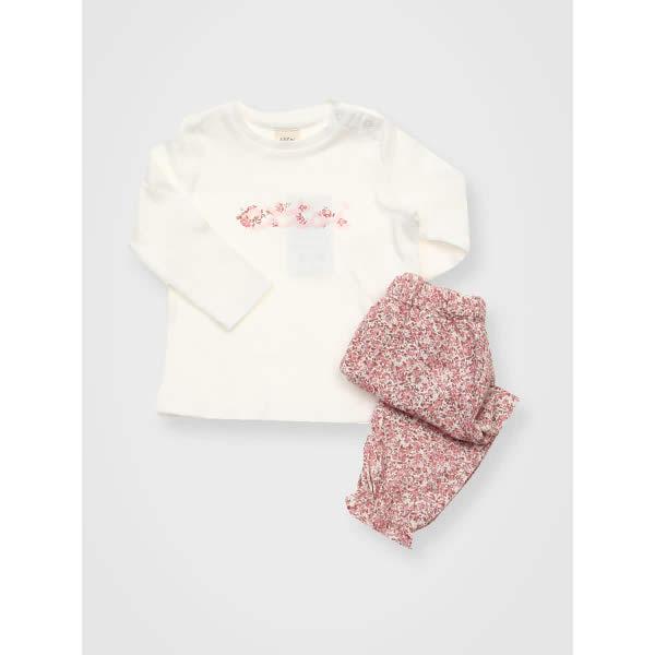[현대백화점]에뜨와 유아 메리플라워상하복 07L5 53041 출산선물 조카선물 백일 신생아 남아 여아
