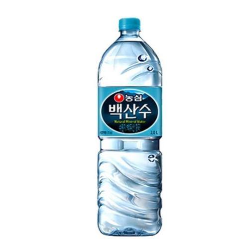 백산수 2L 생수 먹는샘물 생수, 30개