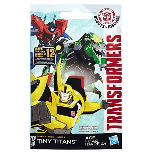 Transformers Robots in Disguise Tiny Titans Series 4 Figure, 본문참고