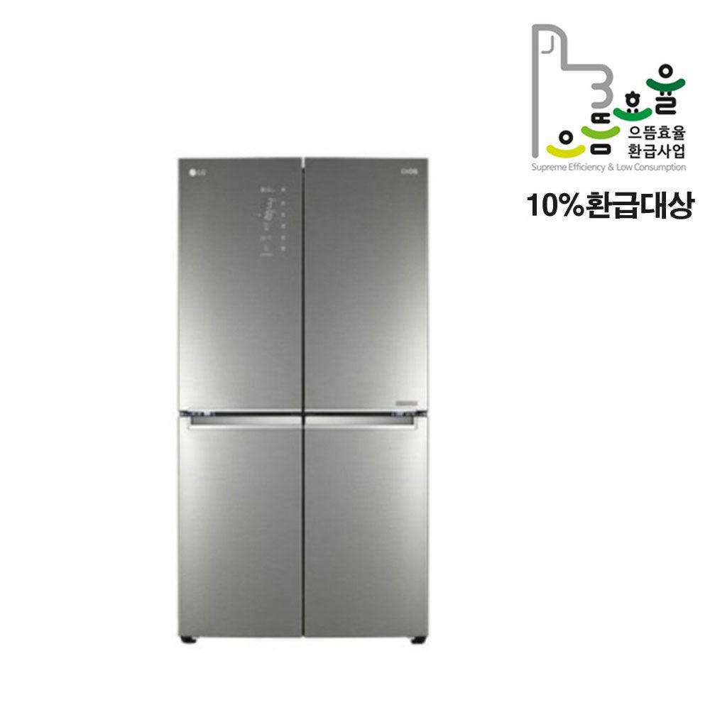 [신세계TV쇼핑](으뜸효율가전)[LG] 디오스 더블매직스페이스냉장고 F871SN55E 870L, 단일상품